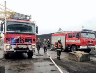 Chvaletičtí hasiči nacvičovali zásah v provozu