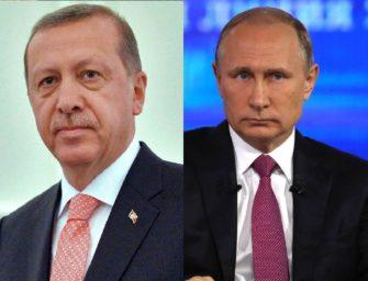 Putin s Erdoganem spustili plynovod TurkStream