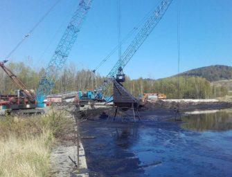 Likvidace dehtových kalů na Sokolovsku finišuje