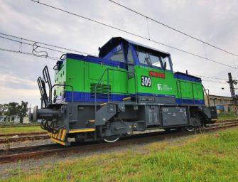 Do Počerad míří lokomotiva v nových barvách