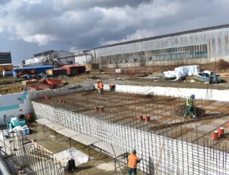 ČEZ Distribuce staví v Dolním Benešově novou transformovnu